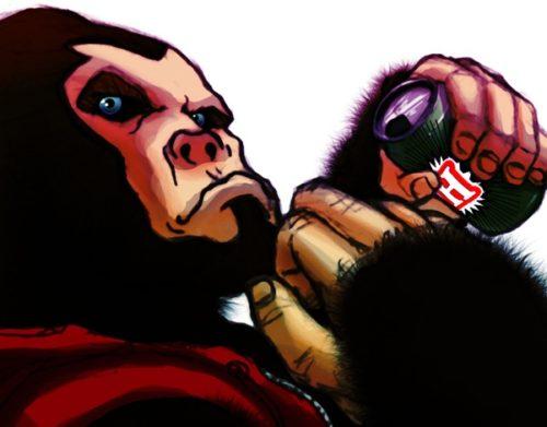 Gorilla Knight Kong